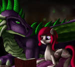 Spike and Cotton [Commission] by NixWorld