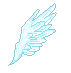 Pixel wing by MagicallyBlue