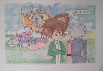 Vayanse a Digimon, inutiles by DashKnife-edge