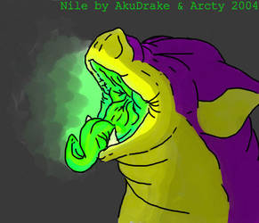 Nile's Yawn by Arcty