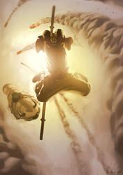 Avatar: Aang Atacks by boscopenciller