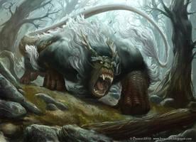 Dragorilla by boscopenciller