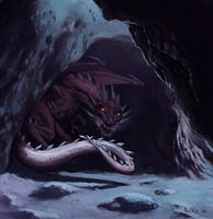 Dragon's Lair by boscopenciller