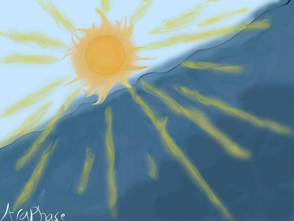 Sun Rays by Araphrase