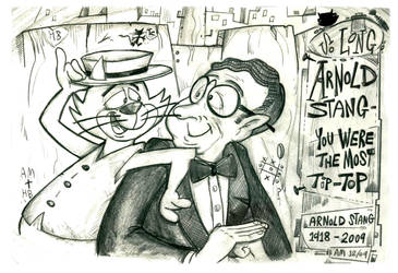 R.I.P. Arnold Stang by Granitoons
