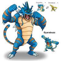Gyarabuzz by Zeecomics