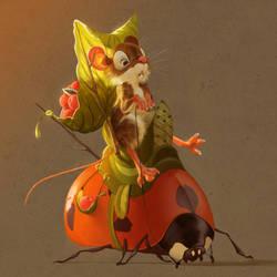 Ladybug Ride by Pixxus