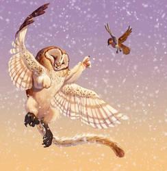 Raoul's Flight by Pixxus