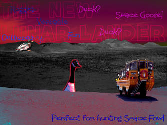 Duck Duck Spacegoose by electro33