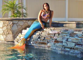 Waterfall Mermaid by Ninjagimli