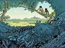Junglebook - book cover by ARTOONATOR