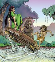 New Junglebook illustration by ARTOONATOR