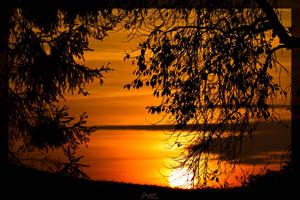 Sunset Fichtelgebirge by deaconfrost78