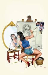 GFT Sela Rockwell selfie by Age-Velez