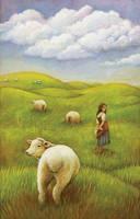 The Shepherdess by CAMartin