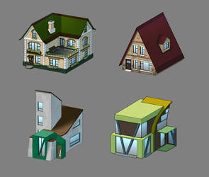 houses by Lerr