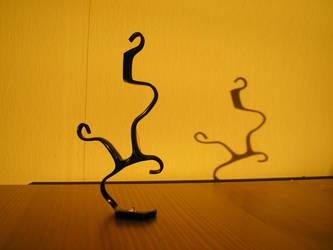 Eyeglass Frame Sculpture 4 by Maluviam