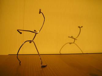 Eyeglass Frame Sculpture 6 by Maluviam