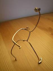 Eyeglass Frame Sculpture 6b by Maluviam