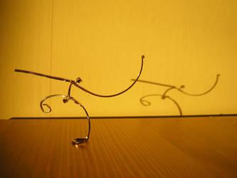 Eyeglass Frame Sculpture 7 by Maluviam