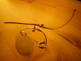 Eyeglass Frame Sculpture 7b by Maluviam