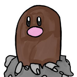 Diglett by WhiteRose1994