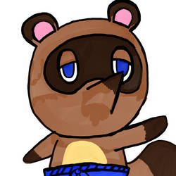 Tom Nook by WhiteRose1994