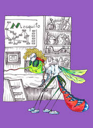 M as Mosquito by Ritsy