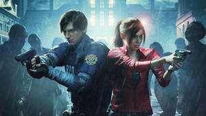 Resident Evil 2 Remake Youtube Banner by Helryu