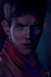 . Merlin . by mioree-art