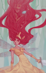 Child of Light .Becoming. by mioree-art
