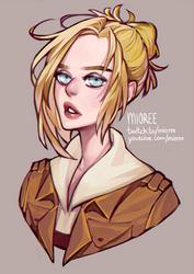 Annie Leonhardt by mioree-art