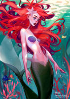 The Little Mermaid by mioree-art