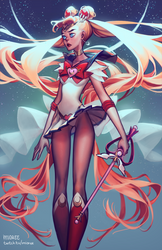 Sailor Moon by mioree-art