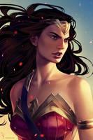 Wonder Woman by mioree-art