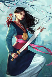 Fa Mulan by mioree-art