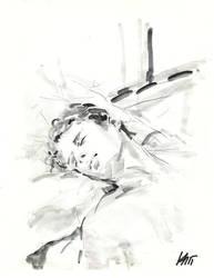 Sleeping genleman by Milwa-cz