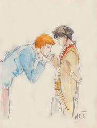Gentle kiss by Milwa-cz