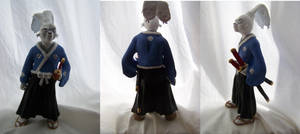 Usagi Yojimbo Figurine by littlemooglet