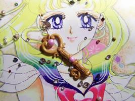 Chibiusa's Time Key Pendant by littlemooglet