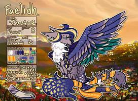 Faelidh Registration Sheet - Fulgor by byDaliaPamela