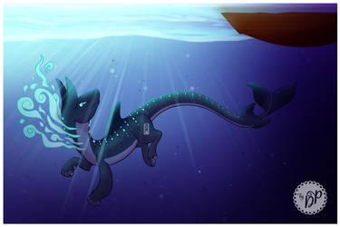Under water by byDaliaPamela