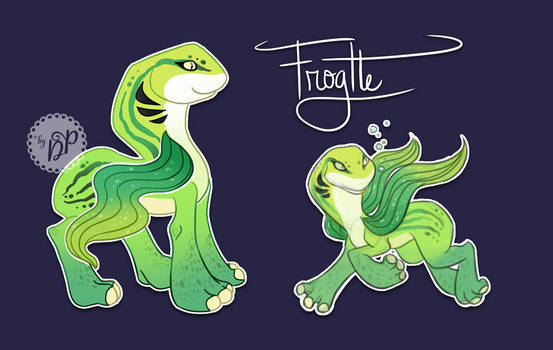 Frogtle by byDaliaPamela