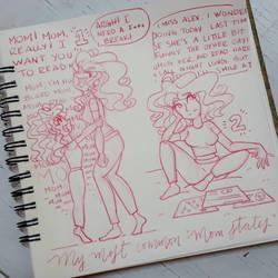 Mom issues by byDaliaPamela