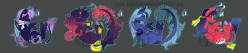 Breedables pony designs 011 by byDaliaPamela