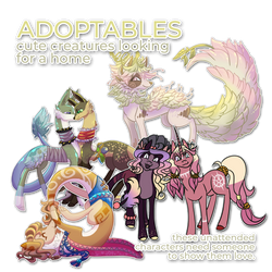 These babies need a home (OPEN ADOPTABLES) by byDaliaPamela