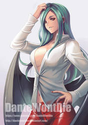 Morrigan (casual outfit ver.), by DanteWontDie by Antsstyle