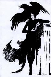 kuroshitsuji cutting wings by Unita-N