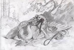 The Serpent by Unita-N