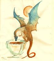 tea dragon by Unita-N